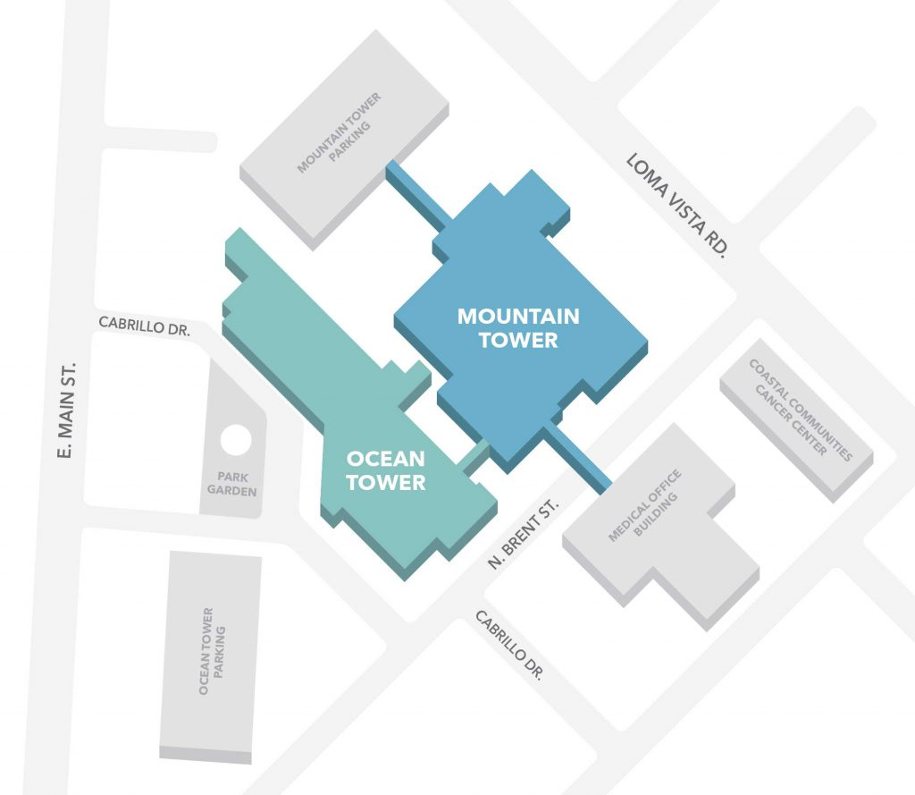 New CMH Campus Map